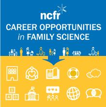 Careers in Family Science infographic image