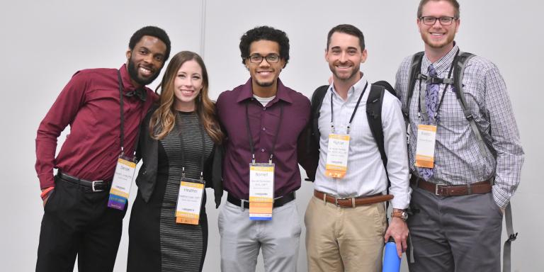 Students at NCFR 2018